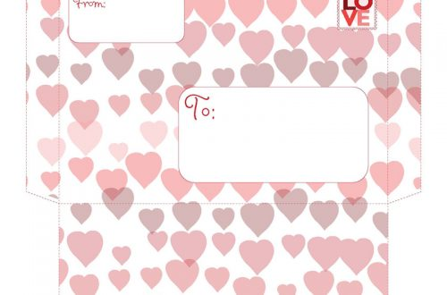 Valentine Envelopes | BeccaBug.com