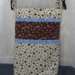 Wheechair Bag - Cream with Brown Accents